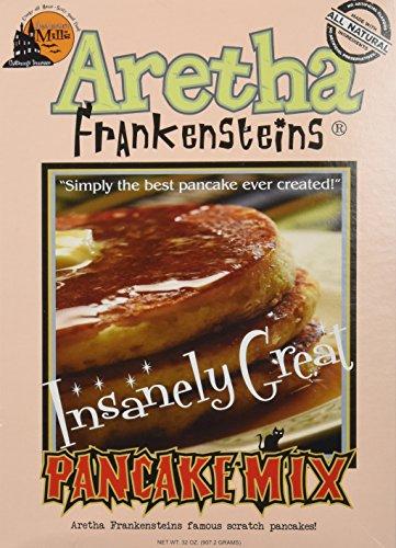 Aretha Frankenstein#039s Insanely Great Pancake Mix  32 Oz Box