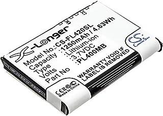 CS-FL420SL Baterie 1250mAh compatibel met [FUJITSU] Loox 400, Loox 410, Loox 420, Loox C500, Loox C550, Loox N500, Loox N5...