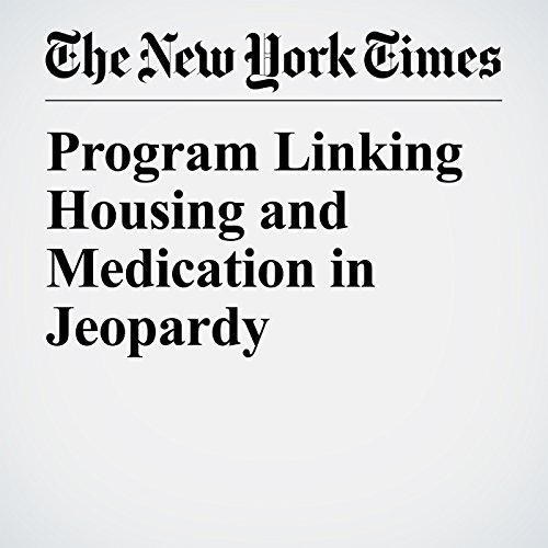 Program Linking Housing and Medication in Jeopardy copertina