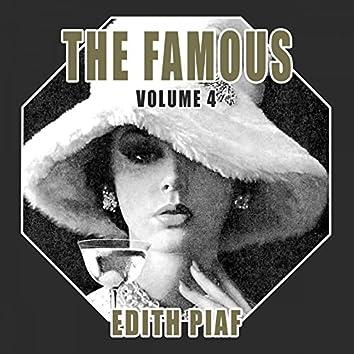 The Famous Edith Piaf, Vol. 4