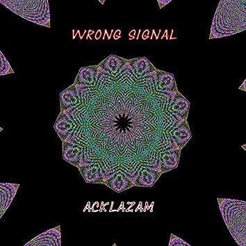 Wrong Signal