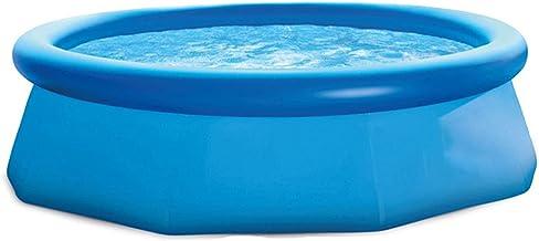 PSOIHGTFS Piscina Desmontables Oval- Steel Pro - Piscina Grande con Estructura de Acero, 305 * 76cm-3853Litros,Azul
