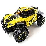 JY&WIN Coche de Control Remoto Escala 1/14 2.4Ghz 4WD 30 km/h RC de Alta Velocidad Escalador de orugas Buggy Off-Road Rock RC Toy para niños y Adultos