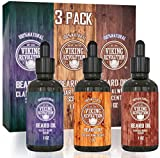 Beard Oil Conditioner 3 Pack - All Natural Variety Gift...