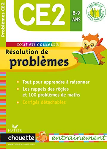Chouette Résolution de problèmes Maths CE2