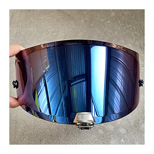Para HJ-26 Lente de visera de casco de veneno para H-JC RPHA 11 & RPHA 70 CASCO MOTO WINDSHIELD HJ-26ST Capacete de Moto Accesorios para motocicletas Visores de motocicleta escudo ( Color : Blue )