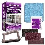 Rejuvenate Stainless Steel Scratch Eraser Kit Safely Removes Scratches Gouges...