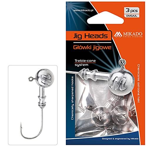 Mikado Jig Head Jig Headaberdeen 7g Pesca Spinning