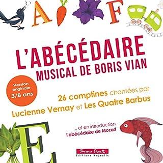 Couverture de L'Abécédaire musical de Boris Vian