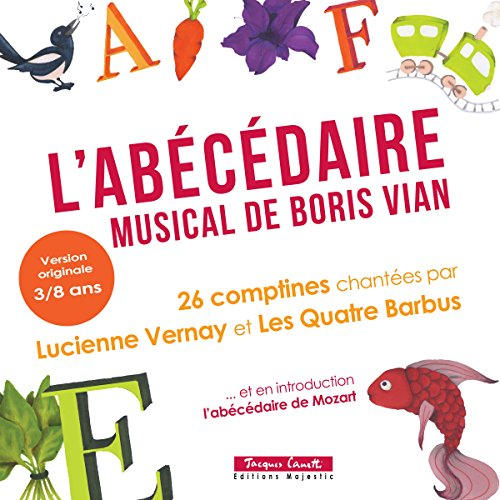 L'Abécédaire musical de Boris Vian audiobook cover art