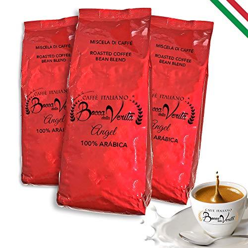 BOCCA DELLA VERITA - Café Italiano en Grano, Aroma ANGEL 10