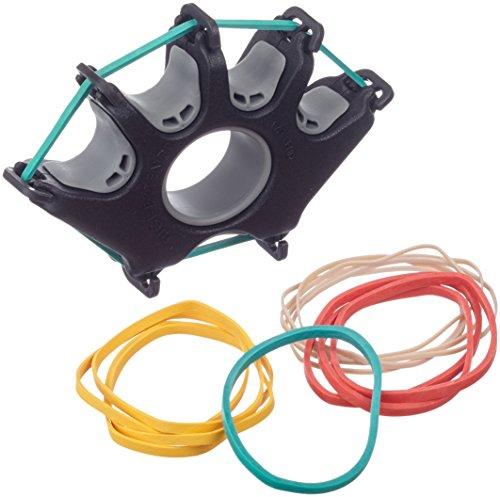 Handtrainer, Fingertrainer Cando Digi-Extend, 1 Basisgerät, 14 Widerstandsbänder (sehr sehr leicht bis medium), 10-0775