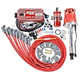 MSD 85551K Ignition Kit Includes Distributor 6AL Ignition Box...