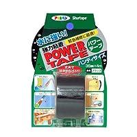 (まとめ買い) アサヒペン パワーテープ ブラック 36mm×4m 【×10】