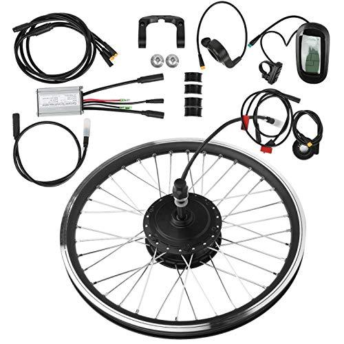 FEBT Kit di conversione Bicicletta elettrica da 24'Ruota Anteriore/Posteriore, Kit Motore Bici elettrica 36V 250W con Display LCD, Controller Intelligente per Bici da Strada(1#)