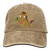 Hoswee Baseballmütze Hüte Kappe für Damen Herren Carrot Clipart Horse Jeanet Baseball Hat Adjustable Trucker Cap