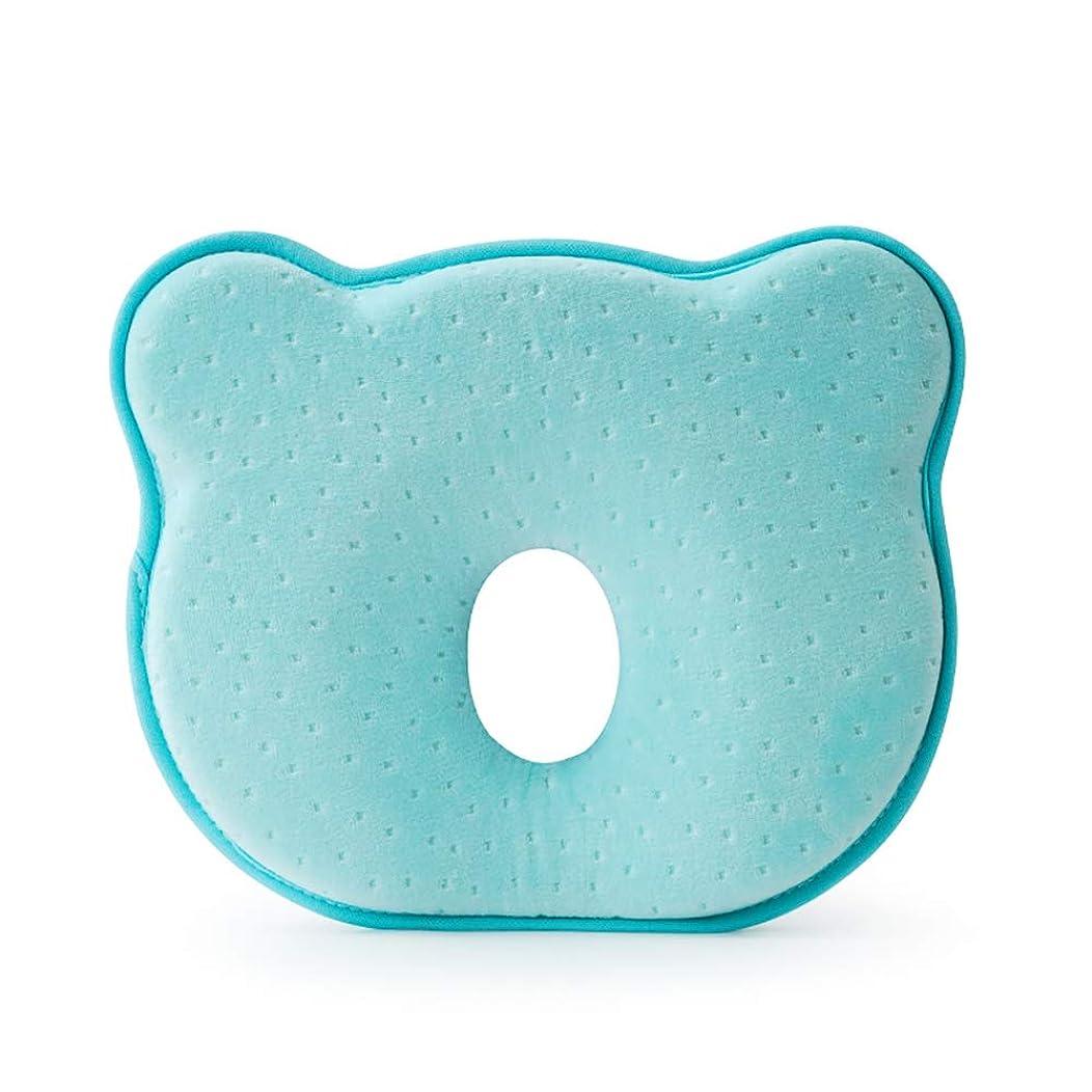 正義ワイン行動0-1歳の赤ちゃんに適しベビー枕低反発の形の枕新生児アンチ偏心ヘッド枕,C