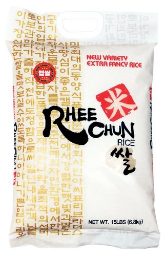 Rhee Chun Extra Fancy New Variety Rice, 15 Pound