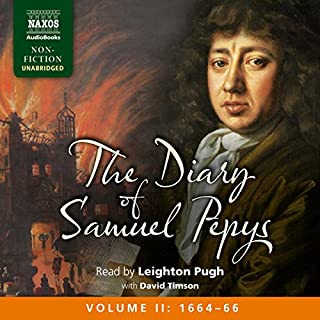 The Diary of Samuel Pepys cover art