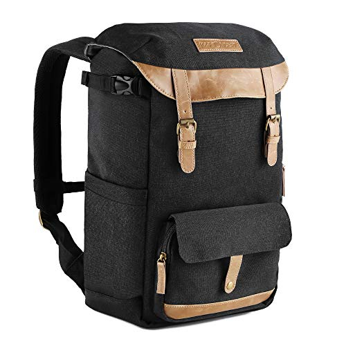 K&F Concept Waterproof Camera Backpack Large Capacity Rucksack DSLR Anti-shock Travel Bag for Canon Nikon Sony and Other Cameras Laptop Ipad