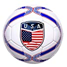 Western Star Official Match Game American Soccer Ball Size 5︱Official Size and Weight Indoor and Outdoor Training Ball USA
