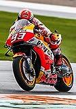 Desconocido Póster de Gran Premio Marc Marquez para Honda Moto Valencia Spain 10680 (A3-A4-A5), A5