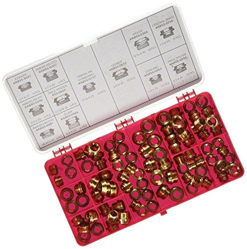Kissler & Co. AB555-1130 Bibb Seat Kit (100 Piece)