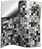 24x Gris negro blanco Lámina impresa 2d PEGATINAS...