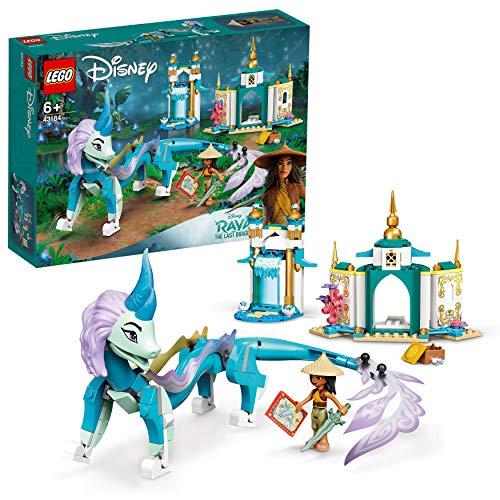 LEGO Disney Princess Raya e Il Drago Sisu, Playset dal Film Disney Raya e L'Ultimo Drago, Giocattoli per Bambini 6+ Anni, 43184