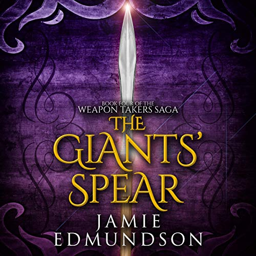 The Giants' Spear audiobook cover art