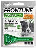 Frontline | Combo Spot On Cani | Protezione da pulci, zecche, uova e larve di pulci | 1 Pipette | Cane S (2 - 10 Kg)