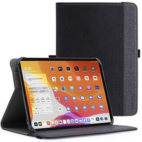 GoodCase Funda universal para tablet de 9 a 11 pulgadas, funda protectora con función atril para tablet Android de 9 a 11 pulgadas, con soporte giratorio de 360 grados y múltiples ángulos de visión.
