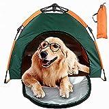 C&YL - Tienda de campaña para Mascotas con Bolsa de Transporte, portátil, Plegable, Impermeable, Protector Solar, fácil de Instalar y Quitar, Grande (79 x 77 x 62 cm)