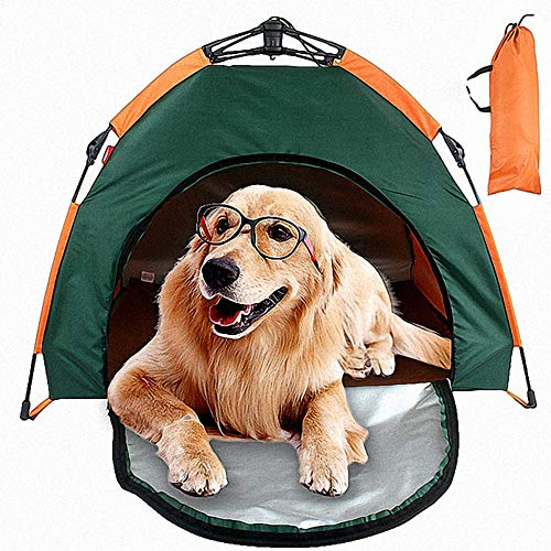 C&YL Premium Pet Tent With Carry Bag,Portable Folding Waterproof Sunscreen Outdoor Dog Kennel(79 x 77 x 62cm)