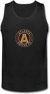ZHENGXINGZHENGXING Men's Atlanta United FC Logo tank top Size XXXL