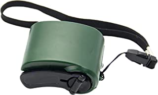 ERZU Wicker Collection handvevladdare, nödnödvädersradio, 600 mA powerbank USB-laddare för mobiltelefon, bärbar manuell nö...