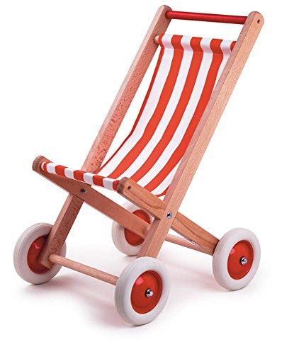 Egmont Toys Kinderwagen, Rot / Weiß