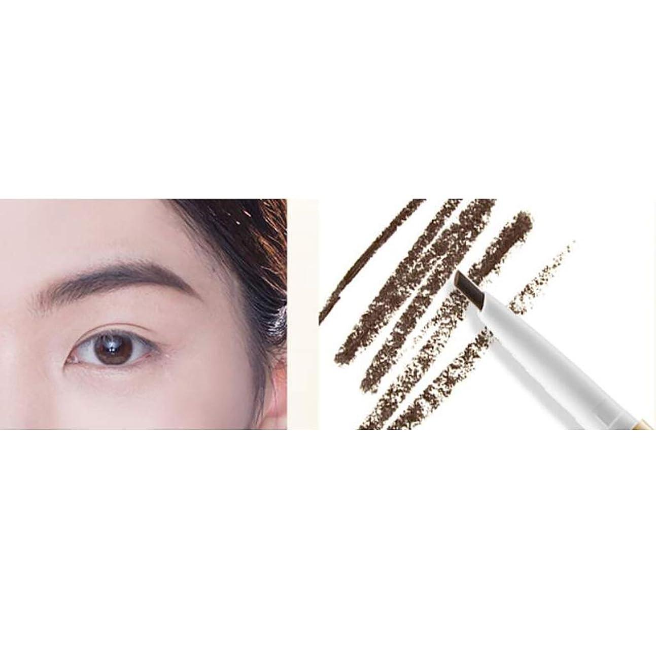 ヶ月目順番慈悲眉毛の鉛筆、女性、学生の眉毛の鉛筆は、防水と汗をかける (色 : A)