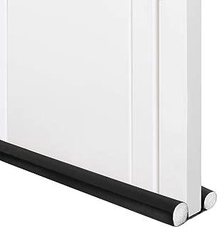 Trenect Door Draft Stopper 37 inches Sound Proof Noise Reduction Under Door Draft Stopper Energy Saving Dust Proof Door Weather Stripping
