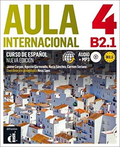 Aula Internacional - Nueva edicion: Libro del alumno + ejercicios + CD 4 (B2.1 (ELE NIVEAU ADULTE TVA 5,5%)