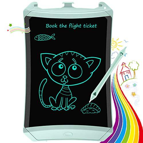 Tablero de Escritura LCD TEKFUN, Tablero de Graffiti, Tablero de Escritura de 8.5 Pulgadas con Bloqueo de Pantalla borrable y función Reutilizable,Cuaderno Escolar y de Oficina, Regalo para niños