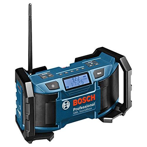 bester Test von aldi life musik Bosch Professional System GML SoundBoxx 18V Bauradio mit Batterie (Aux-In, keine Batterie,…