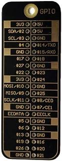 Taidacent GPIO Programming for Raspberry Pi 4B/3B+/2B/1B+/A+/Zero 40Pin Raspberry Pi GPIO Reference Card (Black)