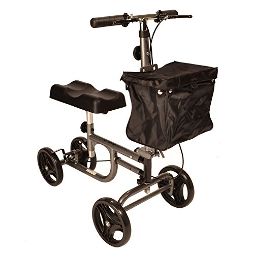 FAST FREE DELIVERY Steerable Knee walker with brakes,...