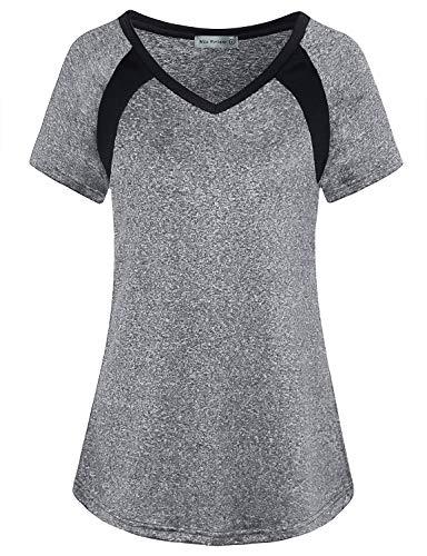 MISS FORTUNE Yoga Tops Dri Fit Women's Workout T-Shirt