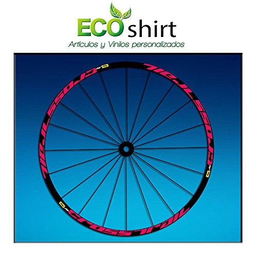 Ecoshirt PW-0ZLP-HS0Q Stickers Jante Rim Mavic Crosstrail Bike Am58 MTB Downhill Rose 29\