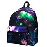 KALIDI Casual Backpack for 15.4' Laptop School Camping Travel College 23L Daypack Classic BagGalaxy