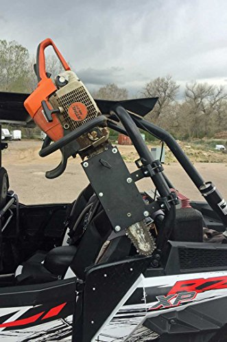 Kawasaki Teryx Roll Bar Chainsaw Mount Fits all Round Roll Bars 1.5' to 2' RCM-3012 Hornet Outdoors