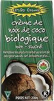 Edward & Sons, Let's Do Organic, Organic Creamed Coconut, Unsweetened, オーガニック・クリーム・ココナッツ、無糖 7 oz (200 g)