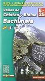 Valles de Chistau y Bielsa. Bachimala, mapa excursionista. Escala 1:25.000. Español, Français, English. Alpina Editorial. (Mapa Y Guia Excursionista) - 9788480904018